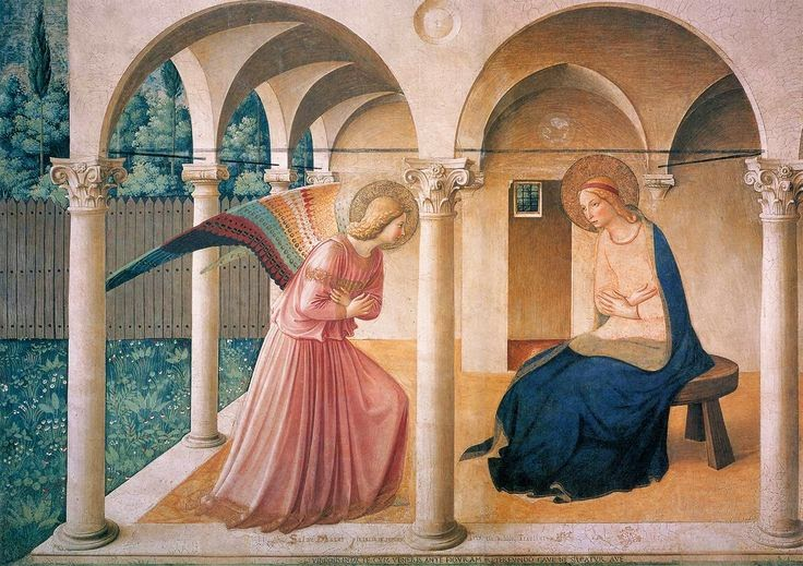 Fra Angelico The Annunciation