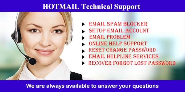 Hotmail contact support number