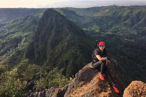 Let's Take A Look Back On The Day Angel Locsin Was On A Mountain Climbing Craze!