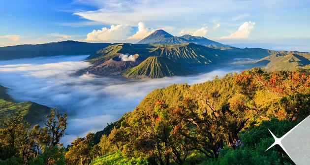 Destinasi wisata indonesia yang menjadi favorit Wisatawan asing