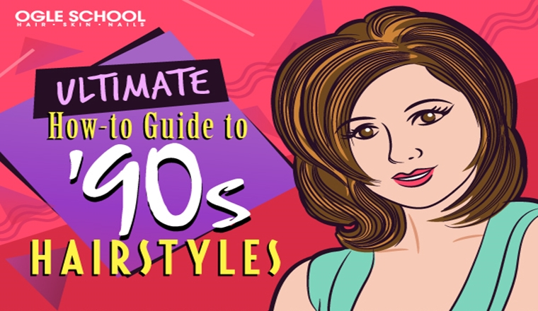 TBT: These '90s Hairstyles Have So Much Nostalgia #infographic