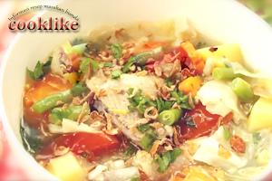Cooklike Resep Sayur Sop Ayam Istimewa