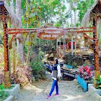Wisata Warung Air Taman Sungai Sumber Banyu Biru Wonosalam Jombang