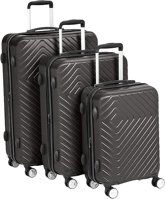 Gem 3-Piece Hardside Expandable Spinner Luggage Set