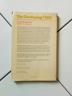 Mental Retardation: The Developing Child