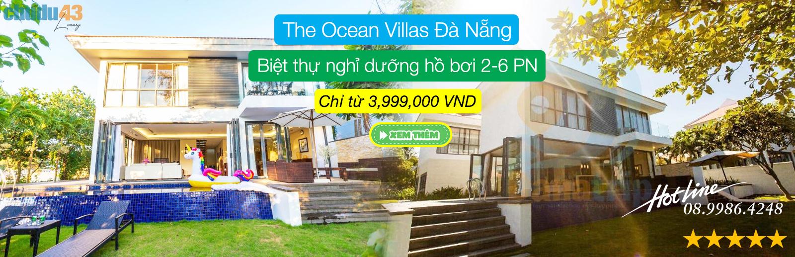 The Ocean Villas Da Nang | Chudu43.com