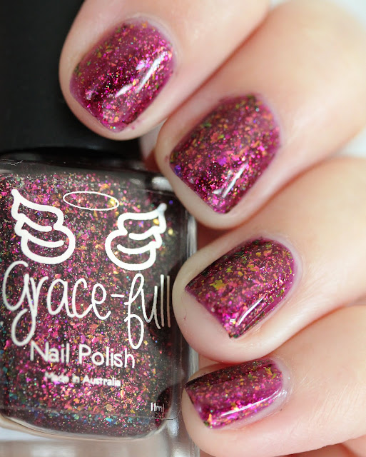 Grace-full Nail Polish Eternal Sunset Hella Holo Customs