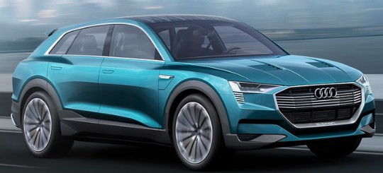 Audi E-Tron - Mileage, Price, Specification, Features
