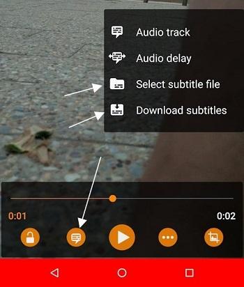 Android videoya alt yazı nasıl eklenir