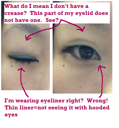 87ed0cf709c The Shine and Sparkle Report: A Beauty Blog: Tips Applying Eyeliner on  Monolids and Hooded Eyelids