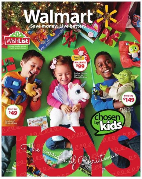 Best Deals In The 2015 Walmart Wonder Of Christmas Toy Book