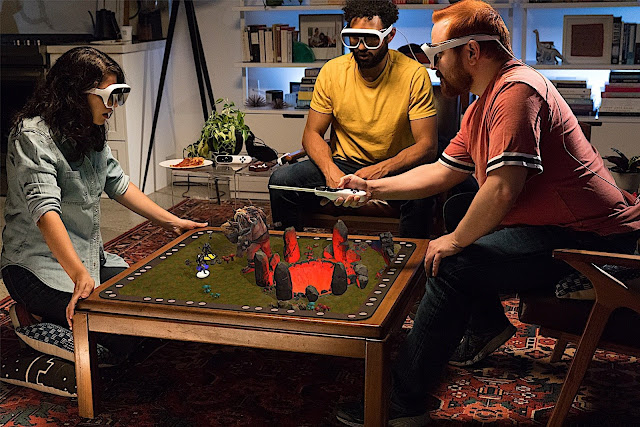 AR Tilt Five, Board Games Advanced with Augmented Reality