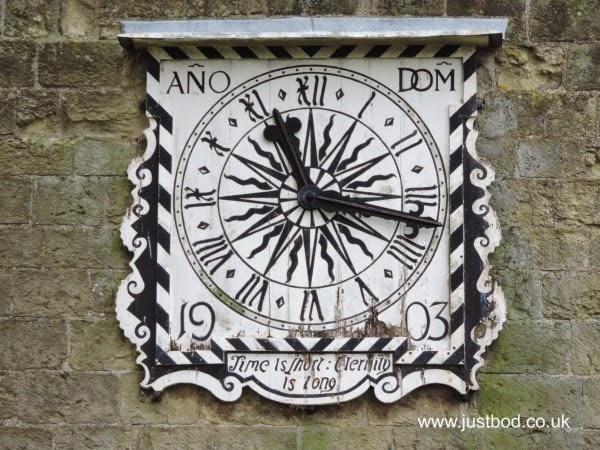 St Mary's Church clock Fridaythorpe