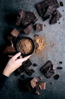 Cách làm muffin chocolate hạnh nhân - bánh muffin socola 2