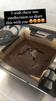 Lockdown Chocolate Cake Baking