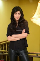 Shruti Haasan Looks Stunning trendy cool in Black relaxed Shirt and Tight Leather Pants ~ .com Exclusive Pics 004.jpg