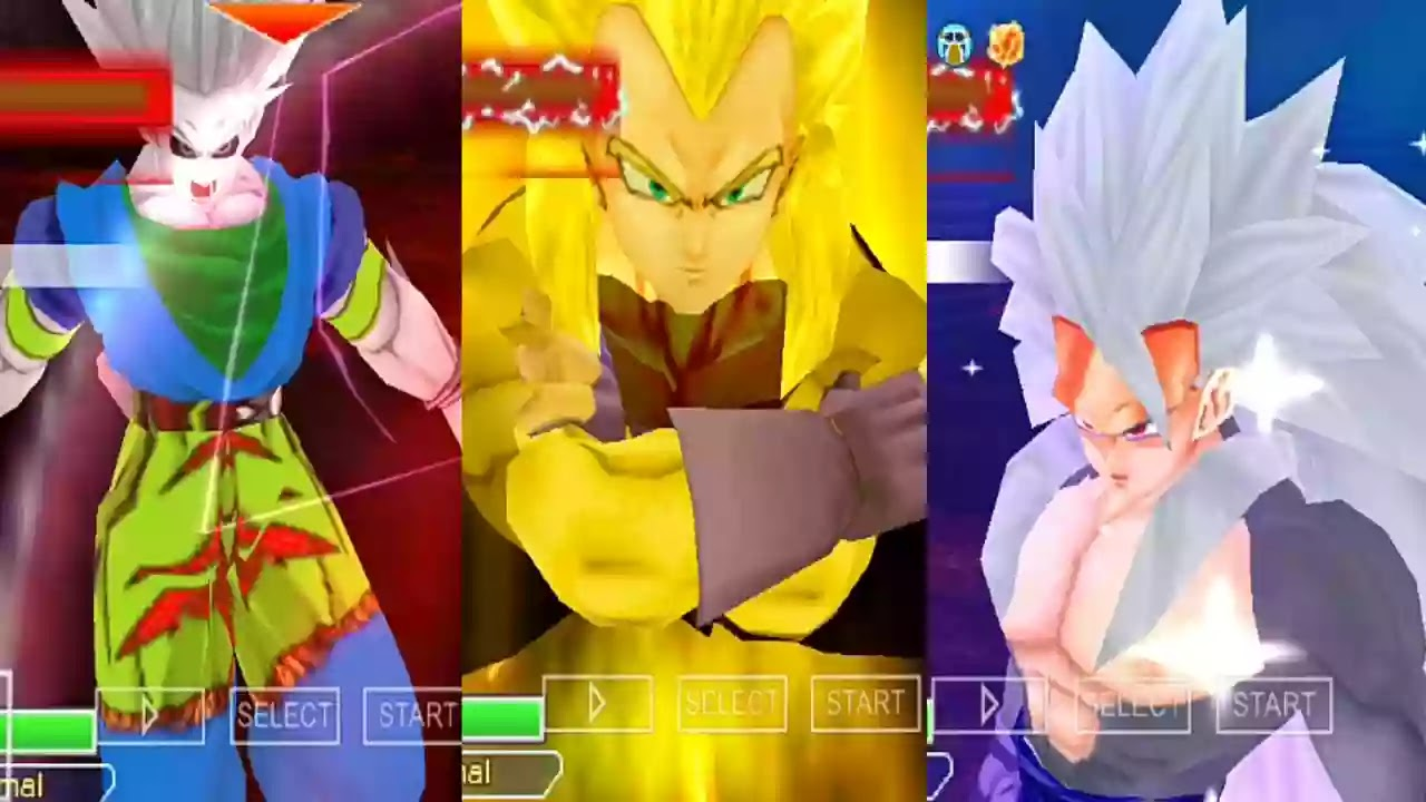 Goku SSJ10 and Vegeta SSJ4 Golden