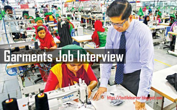 Interview Questions and Answers for Garments Job (Part-2) - Textile