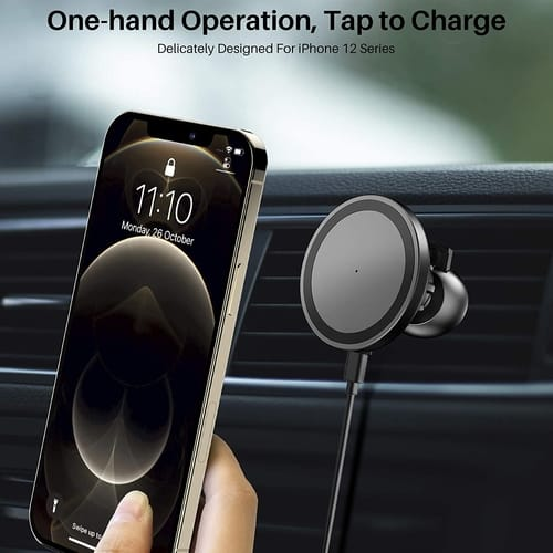 TOZO W8 Car Wireless Magnets Fast Charging