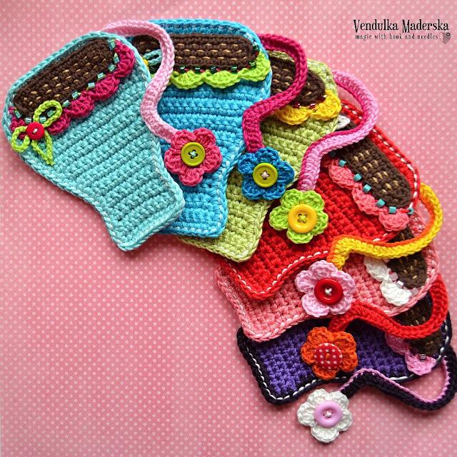 Coffee mug coaster - crochet pattern by VendulkaM