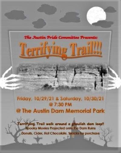 10-29/30 Terrifying Trail, Austin Dam Park