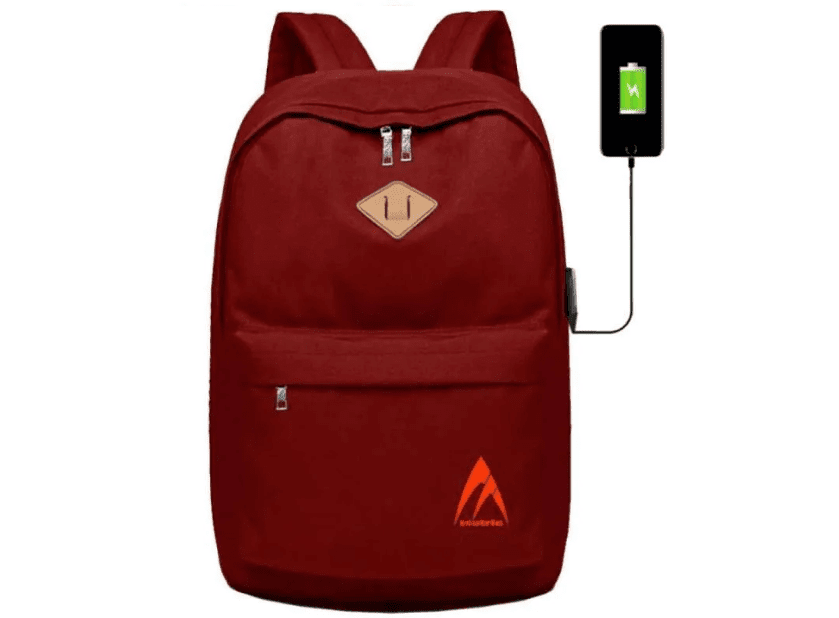 Bag Zone Tas Backpack Laptop USB Charger 5515