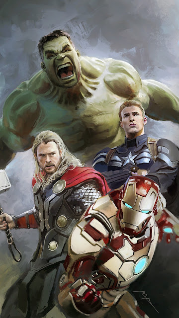 Hulk Thor and Ironman - The Avengers
