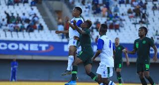 AFCON: Super Eagles Beats Lesotho 4-2