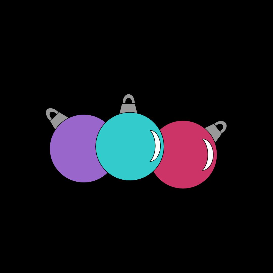 free christmas ornament clipart [ 1079 x 1079 Pixel ]