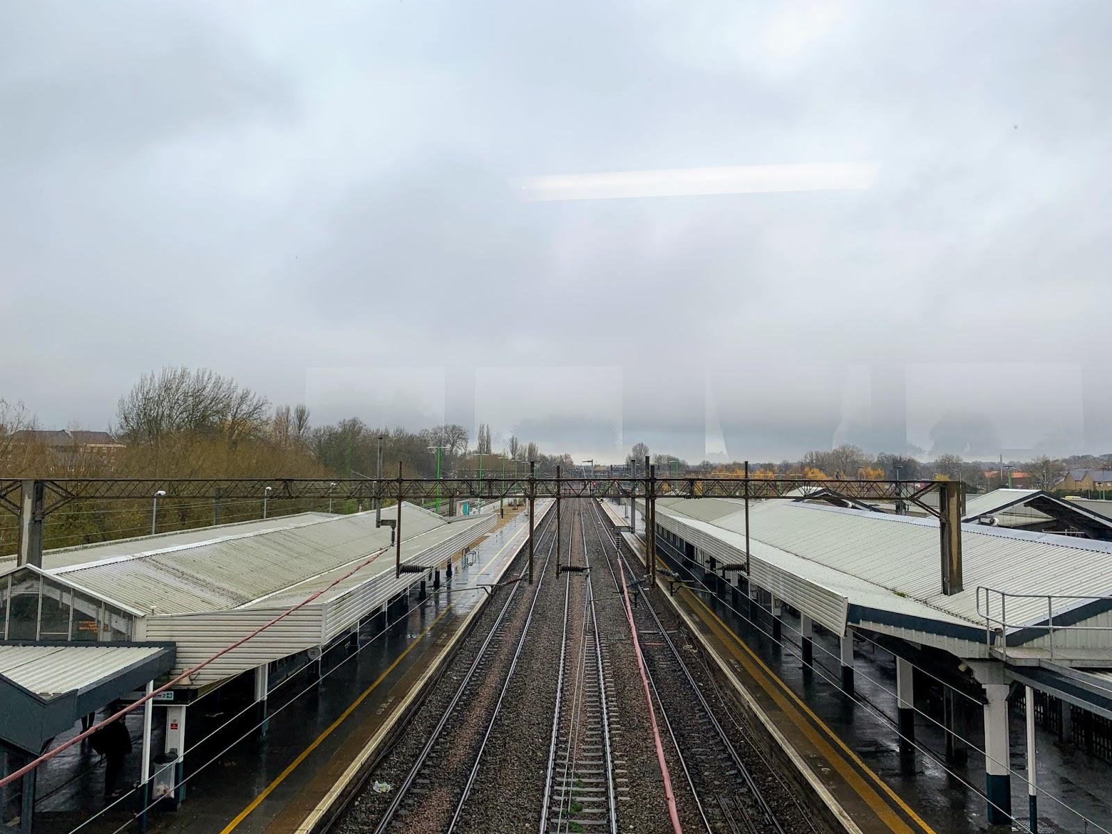 ノーザンプトン駅ホーム