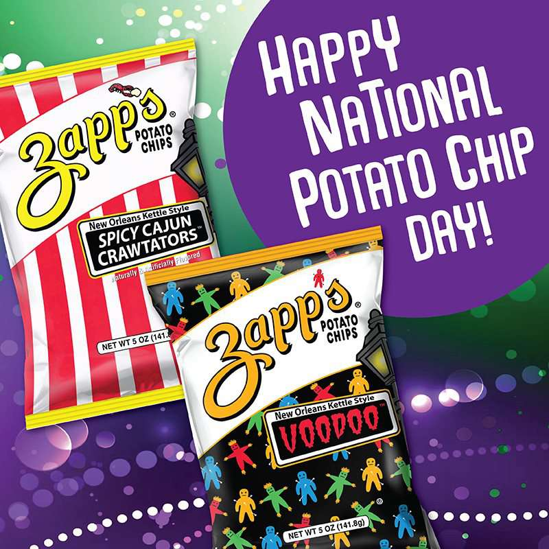 National Potato Chip Day Wishes Lovely Pics
