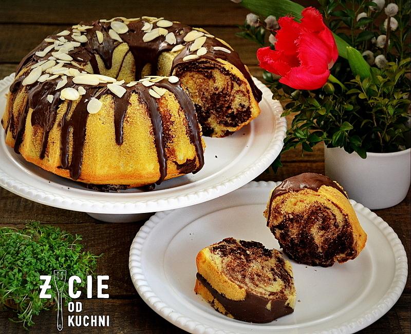 babka wielkanocna, ciasta na wielkanoc, najlepsza babka, jak upiec babke, zycie od kuchni, babka z czekolada