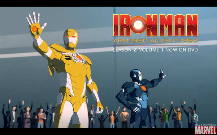 Iron Man Armored Adventures Season 02 All Images In 720P