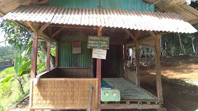 Pos Pelayanan Tamu di Makam Syekh Abdul Kohar Pandawa