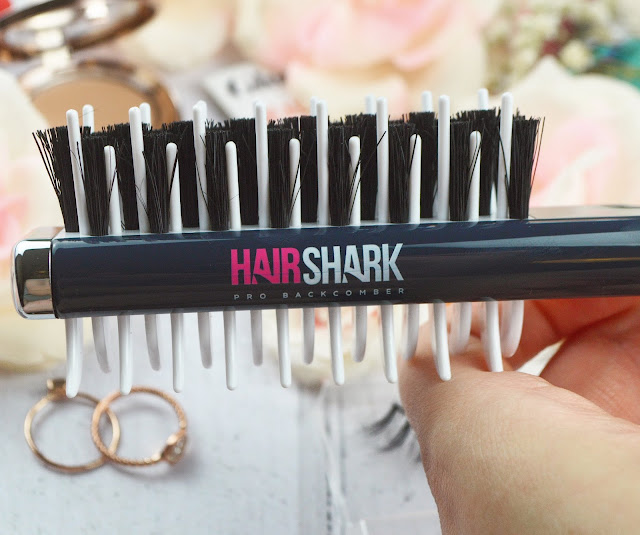 Hairshark Pro Backcombing Brush Prezzybox, Lovelaughslipstick blog