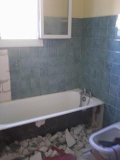 Rénovation de salle de bain à Aiffres (79) par Philpro carreleur Deux-Sèvres