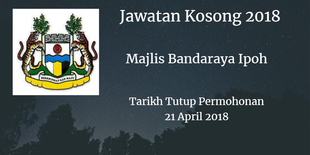 Jawatan Kosong MBI 21 April 2018