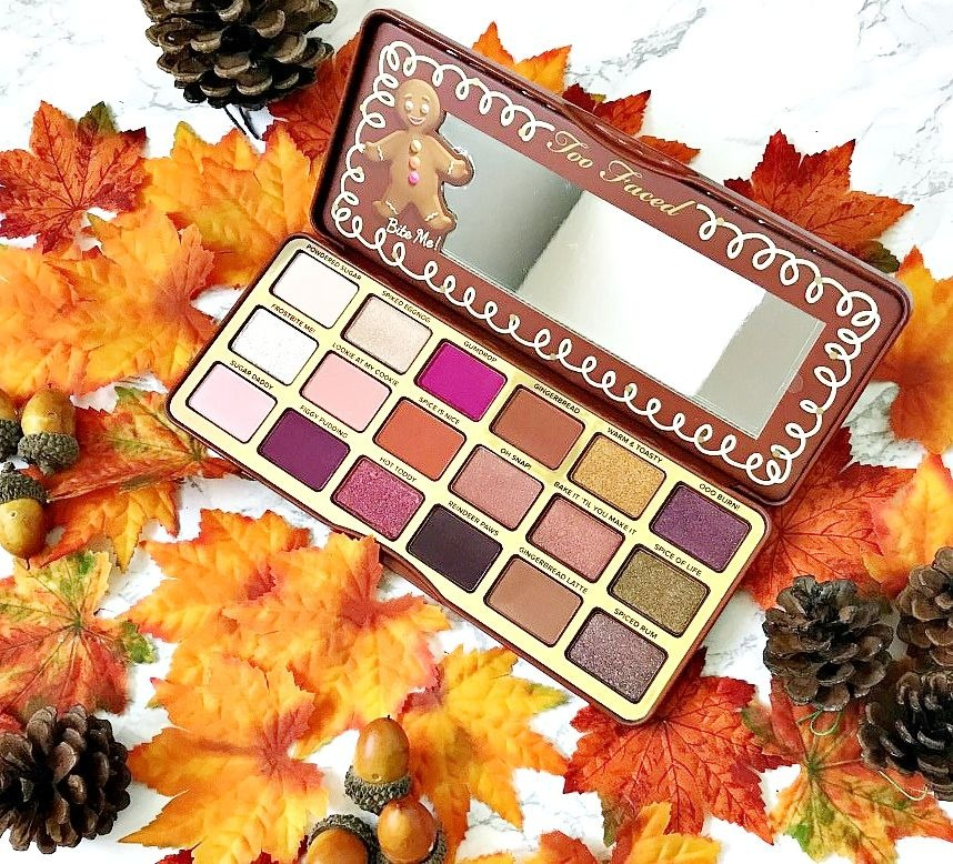 Too Faced Gingerbread Palette Review and Swatches