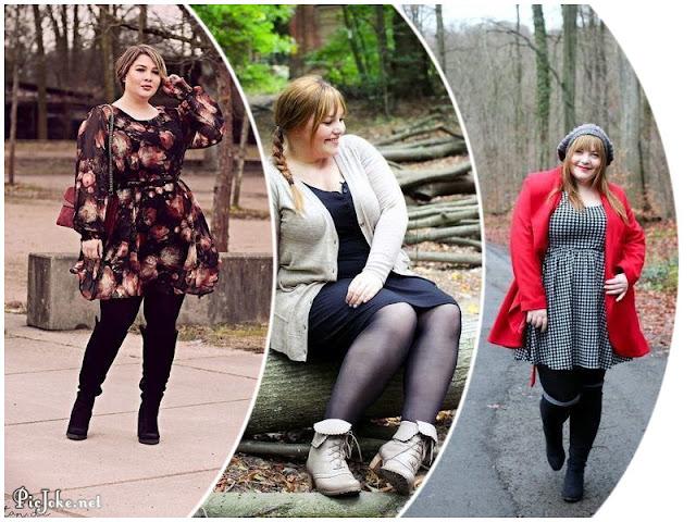 2182e0afd Moda y estilo para gorditas otoño invierno
