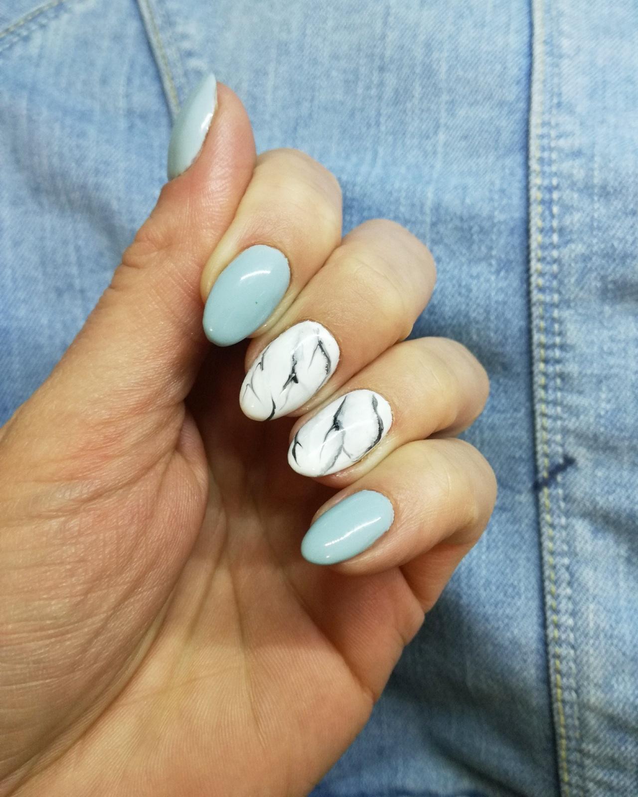 semilac marmur marmurkowe paznokcie 165 boyfriend jeans