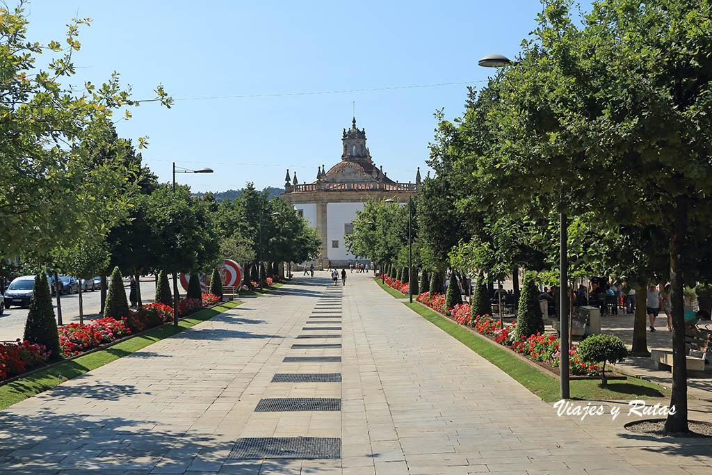 La Avenida da Liberdade, Barcelos