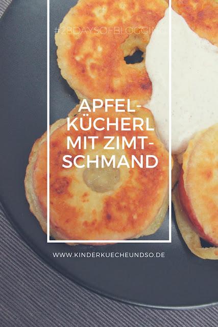 Rezept für leckere Apfelkücherl