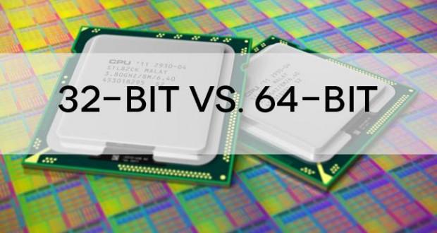 ما الفرق بين معالج 64 ومعالج 32 وما هو افضل معالج موجود