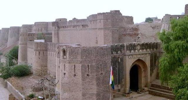 Bhatner Fort  Tourist Attraction Place Hanumangarh Rajasthan
