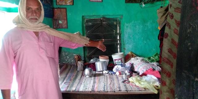 अरेड़ के ढंगा से लाखों रुपये के माल पर चोरों ने किया हाथ साफ