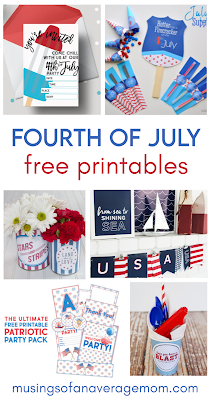 free Fourth of July printables