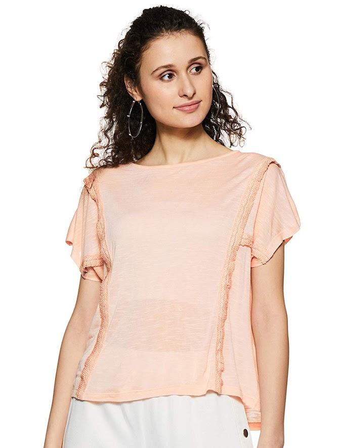 Rs,192/- Amazon Brand - Symbol Women's T-Shirt