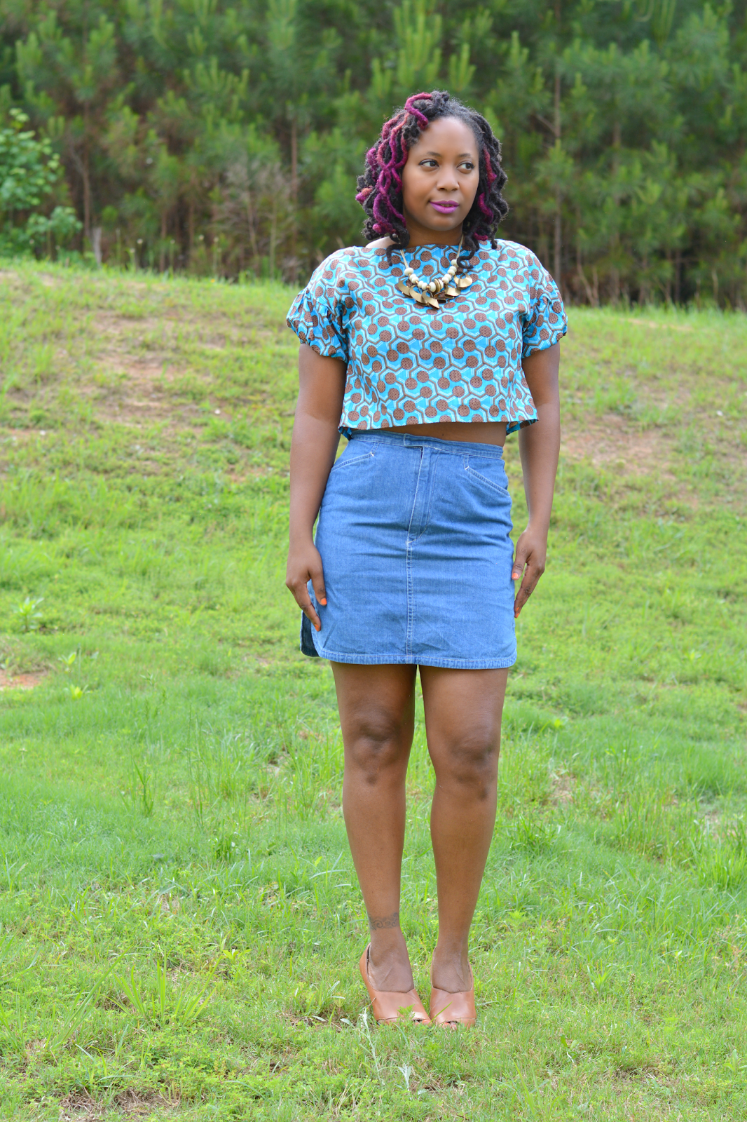 african print outfit ideas