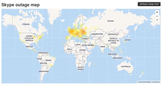 Group hacking CyperTeam menyerang Skype dan membuat beberapa pengguna offline