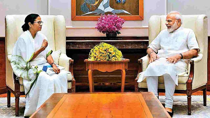 This is the first meeting of the Bengal Chief Minister with the Prime Minister after the Bengal elections in which the two often clash